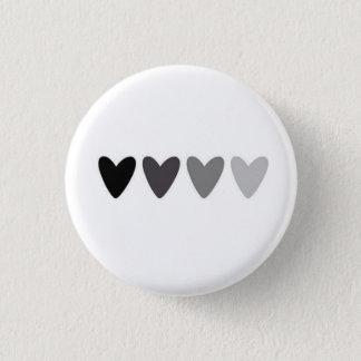 Botón de descoloramiento de los corazones