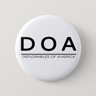Botón de DOA Deplorables