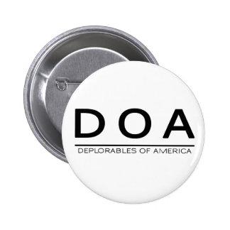 Botón de DOA Deplorables