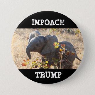 botón de Donald Trump del TRIUNFO del iMPOACH