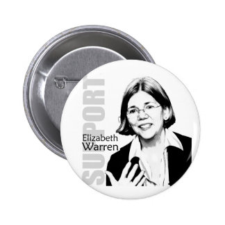 Botón de Elizabeth Warren Pins