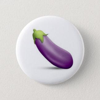 Botón de Emoji de la berenjena