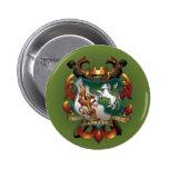 Botón de escudo de armas pins