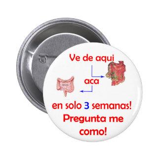 Botón de Estomago Pins