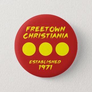 Botón de Freetown Christiania Dinamarca
