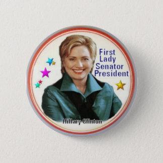 Botón de Hillary Clinton