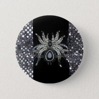 Botón de impresión de la joyería de la araña