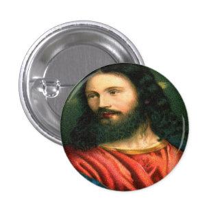 Botón de Jesús Chapa Redonda 2,5 Cm
