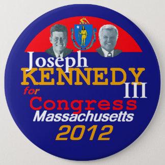 Botón de Joe KENNEDY los 6in