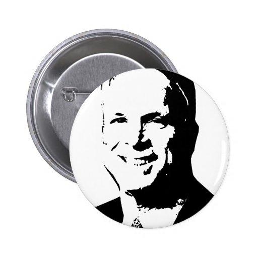 Botón de John McCain Pins