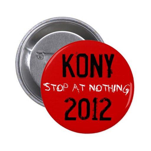 Botón de Kony 2012 Pin