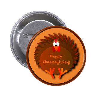 Botón de la acción de gracias de Henny Pins