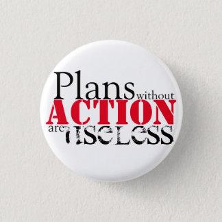 Botón de la acción del plan