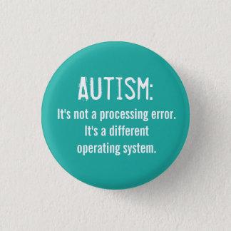 Botón de la aceptación del autismo: Sistema