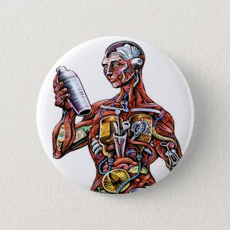 Botón de la anatomía del camarero
