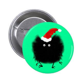 Botón de la araña del navidad