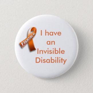 Botón de la ayuda de la esclerosis múltiple