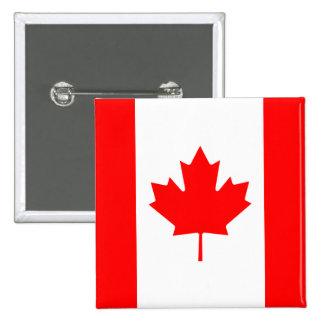 Botón de la bandera de Canadá