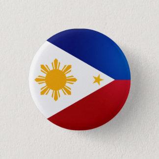 Botón de la bandera de Filipinas