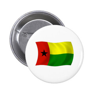 Botón de la bandera de Guinea-Bissau Pin