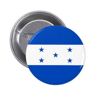 Botón de la bandera de Honduras