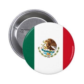 Botón de la bandera de México