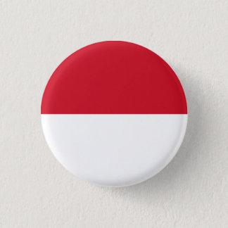 Botón de la bandera de Mónaco