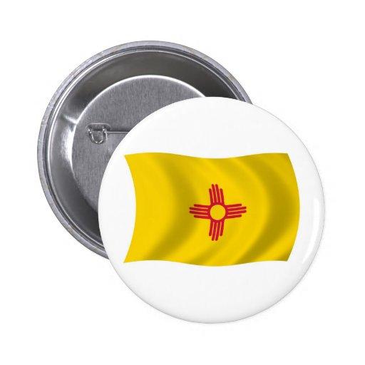 Botón de la bandera de New México Pin