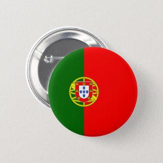 Botón de la bandera de Portugal