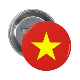 Botón de la bandera de Vietnam