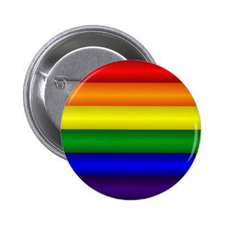 Botón de la bandera del arco iris