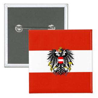 Botón de la bandera del estado de Austria