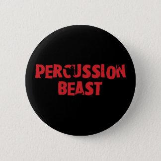 Botón de la bestia de la percusión