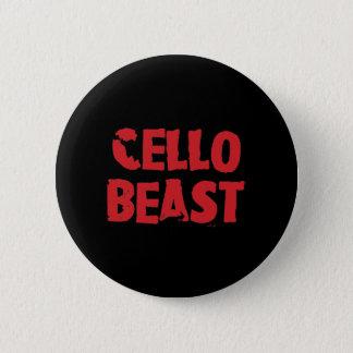 Botón de la bestia del violoncelo