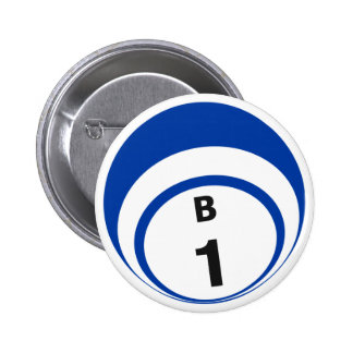 Botón de la bola del bingo B1