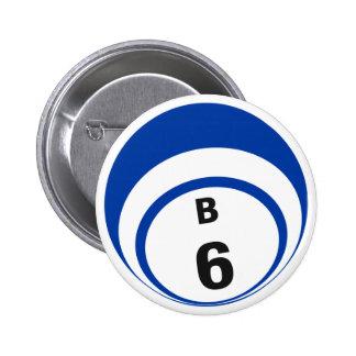 Botón de la bola del bingo B6