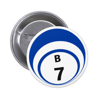 Botón de la bola del bingo B7