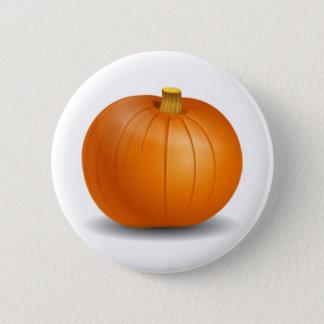 Botón de la calabaza de otoño