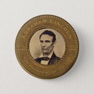 Botón de la campaña de Abraham Lincoln