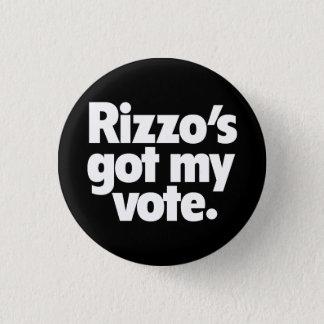 Botón de la campaña de Frank Rizzo 1968
