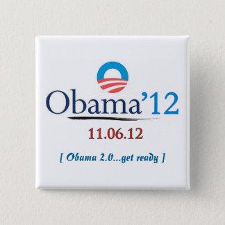 Botón de la campaña de Obama 2012