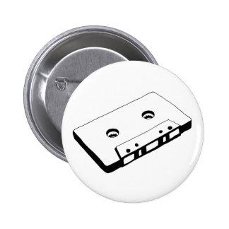 Botón de la cinta de la música de la escuela vieja