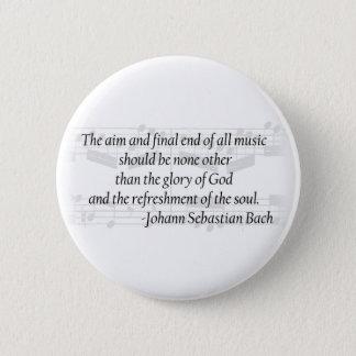 Botón de la cita de Bach