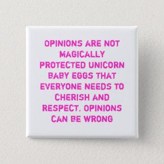 Botón de la cita de la opinión
