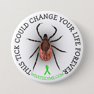Botón de la conciencia de la enfermedad de Lyme de