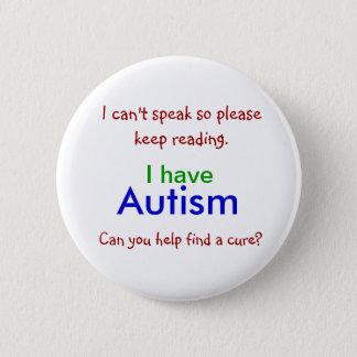 Botón de la curación del autismo