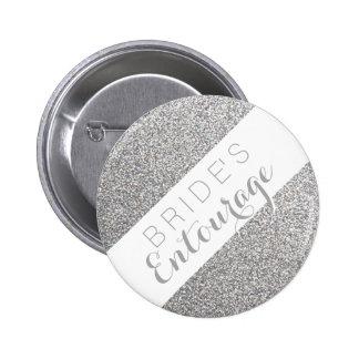 Botón de la dama de honor de la comitiva de la