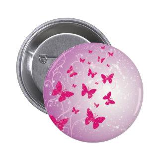 Botón de la fantasía de la mariposa