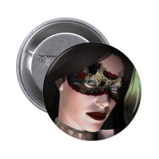 Botón de la fantasía de la mascarada del KRW Pin