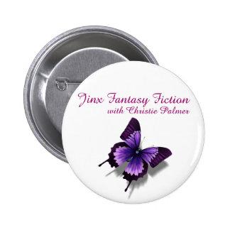 Botón de la ficción de la fantasía del Jinx Pins